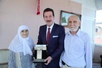 ÖRNEK PROJE - Hacılardan Başkan Tok'a Camii Ve Külliye İçin Teşekkür