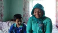 KOZCAĞıZ - İki Çocuğuyla Hayata Tutunmaya Çalışıyor