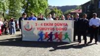 KAFKAS ÜNİVERSİTESİ - Kars'ta 'Dünya Yürüyüş Günü' Etkinliği