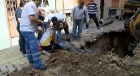 BELDEN - Kanalizasyonda Çalışırken Toprak Altında Kalan İşçi Ölümden Döndü