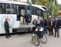 TEKERLEKLİ SANDALYE BASKETBOL - Vanlı Engelliler, Engelsiz Otobüsle Rahata Kavuştu