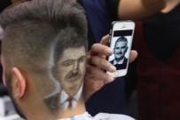 ACUN ILICALI - Başbakan'ın Portresini Saça Yansıttı