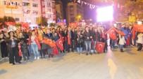 Burhaniye'de Fener Alaylı Kutlama