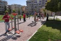 VEYSEL KARANI - Haliliye Belediyesinden Şehit Mustafa Direkli Parkına Yeni Spor Aletleri