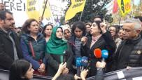MECIDIYEKÖY - İzinsiz Yürüyüş Yapan HDP'li Gruba Polis Müdahalesi