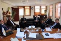 İSMAİL KARAKULLUKÇU - AK Parti Genel Başkan Yardımcısı İlyas Şeker'den Karakullukçu'ya Ziyaret