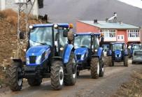 MANGAL KEYFİ - Artos Dağı Eteğinde Traktör Tanıtımı
