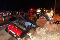 HATALı SOLLAMA - Askere gidecek kuzenler kazada öldü