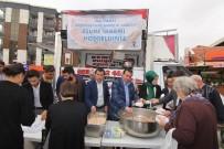 TAŞKıRAN - Başkan Soylu Vatandaşlara Aşure Dağıttı