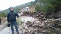 GÜNEBAKAN - Cide'de Yağmur Yine Etkili Oldu