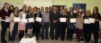 KAPANIŞ TÖRENİ - 'Erasmus Plus Avrupa'ya Açılan Kapı' Sertifika Töreni