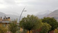 SOĞUK HAVA DALGASI - Erzurum'da Yüksek Kesimlerde Kar Yağışı