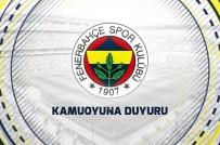 PSİKOLOJİK BASKI - Fenerbahçe'den çok sert açıklama