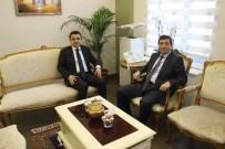 MEHMET GÜRKAN - Tarihi Alan Başkanlığına Atanan Kaşdemir'den Vali Tavlı'ya Ziyaret