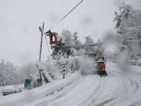 FREKANS - Uludağ Elektrik Dağıtım, Ağır Kış Şartlarına Karşı Seferber Oldu