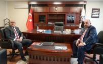 DEVİR TESLİM - Yeni Emniyet Müdürü Karabulak, Görevine Başladı