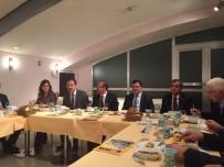 YUSUF BAŞER - Yozgat Milletvekilleri Ankara'da Yozgatlı Bürokratlara Bir Araya Geldi