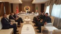 RÜŞTÜ ZORLU - Adıyaman Ziraat Odaları Ankara'da