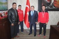 HALTER ŞAMPİYONASI - Ağrılı Milli Haltercilerden İki Madalya