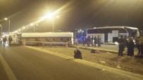 AKARYAKIT TANKERİ - Ankara'da Zincirleme Kaza Açıklaması 25 Yaralı