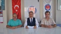 TÜRK SAĞLıK SEN - Aydın Türk Sağlık Sen Açığa Alınmalara Dikkat Çekti