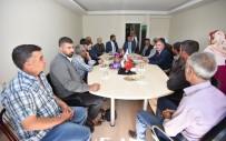 SELAHATTIN GÜRKAN - Başkan Gürkan İhsan Akın'ı Ziyaret Etti