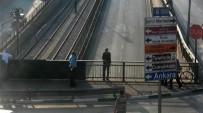 İZZETTIN KÜÇÜK - Bursa Valisi Köprüden Atlamak İsteyen Adamı Kolundan Yakaladı