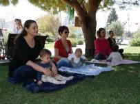 BARIŞ MANÇO - Büyükçekmece'de 'Anne-Bebek Yogası'na Yoğun İlgi