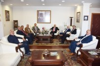 METİN COŞKUN - DTSO Meclisinden Vali Zülkif Dağlı'ya Ziyaret