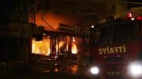 KıŞLA - Erciş'te Çıkan Yangında AVM Kül Oldu