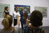 ALMANLAR - 'Göç Ve Göçmenliğ(M)İn Resimsel Halleri' Sergisi Açıldı