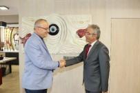TOPRAK MAHSULLERI OFISI - Güleç'ten Belediye Başkanı Ergün'e Nezaket Ziyareti