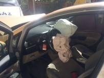 ÜNAL YıLMAZ - İspir'de Ticari Taksi İle Kamyonet Çarpıştı Açıklaması 1 Yaralı