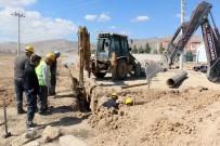 SU ŞEBEKESİ - Merkezdeki 7 Mahallede Su Şebeke Çalışması Tamamlandı