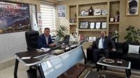 EDIP ÇAKıCı - Osmaneli Kaymakamı Çakıcı'dan, Başkan Duymuş'a Ziyaret