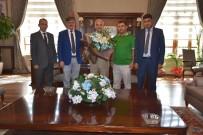 TOPLU ULAŞIM - Özel Halk Otobüsleri Kooperatifinden Vali Güvençer'e Ziyaret