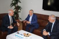 MIHENK TAŞı - Şahin İl Müftüsü Ümit Çimen'i Ziyaret Etti
