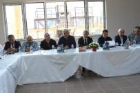 OKUL BİNASI - Akhisar'da Yeni Üniversite Binasının Yüzde 75'İ Tamamlandı