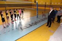 GÖKHAN KARAÇOBAN - Alaşehir Belediyesi Spor Salonu Yeni Sezona Hazırlanıyor