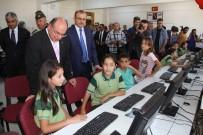 MUAMMER KÖKEN - Anadolu Başsavcısı Tosun'dan Seydikemer'e 330 Bilgisayar