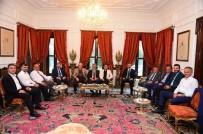 ÜMRANİYE BELEDİYESİ - Anadolu Yakasının Belediye Başkanları Ümraniye'de Buluştu