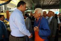 TAŞDELEN - Başkan Taşdelen, Emek Pazarında Esnaf Ve Halkla Bir Araya Geldi