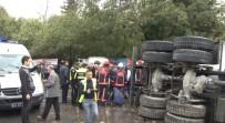 MASLAK - Beton Mikseri 6 Aracı Ezdi Açıklaması 1 Ölü, 5 Yaralı