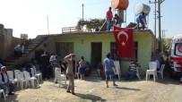 ATAYURT - 'Fırat Kalkanı' Şehidinin Baba Ocağına Ateş Düştü