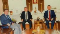 YARGITAY BAŞKANI - Kaymakam Sırmalı Ve Başkan Saka Ankara'da Ziyaretlerde Bulundular
