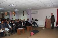 GÜVENLİ GIDA - Köy Muhtarlarına Hayvancılık Ve Bitkisel Üretim Destekleme Takvimi Anlatıldı