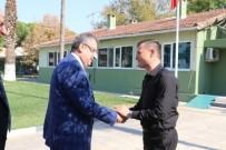 HALIL MEMIŞ - Manisa Büyükşehir Belediyesi'nden Sarıkız Sulama Birliği'ne Ziyaret
