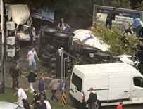 MASLAK - İstanbul'da feci kaza: 1 ölü 5 yaralı!