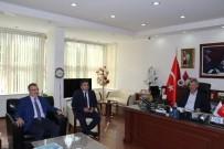 HALIL MEMIŞ - Memiş'ten Başkan Yaralı'ya Ziyaret