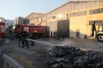 KARAHISAR - Viyol Fabrikası Yanarak Kül Oldu